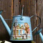 Country Fence Watering Can