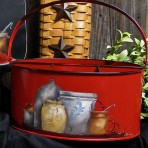 Old Crocks Picnic Caddy – Red