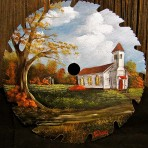 Country Church Round Blade – 7-8″