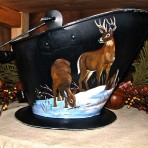 Buck & Doe Coal Bucket