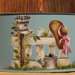 Country Fence Picnic Caddy