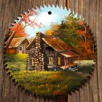 Fall Log Home Round Blade 7-8″
