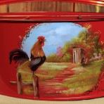 Rooster Picnic Caddy