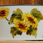 Sunflowers Picnic Caddy