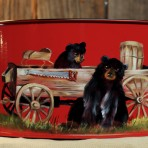 Bears with Wagon Picnic Caddy