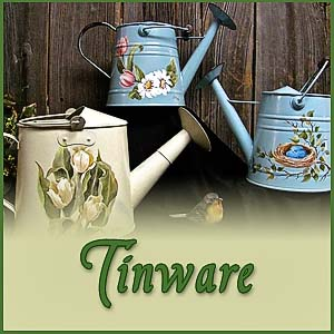 Watering Cans & Tinware